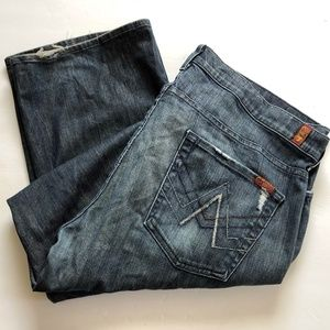 7 For ALL Mankind Mens Jeans 40x33 A Pocket Relax